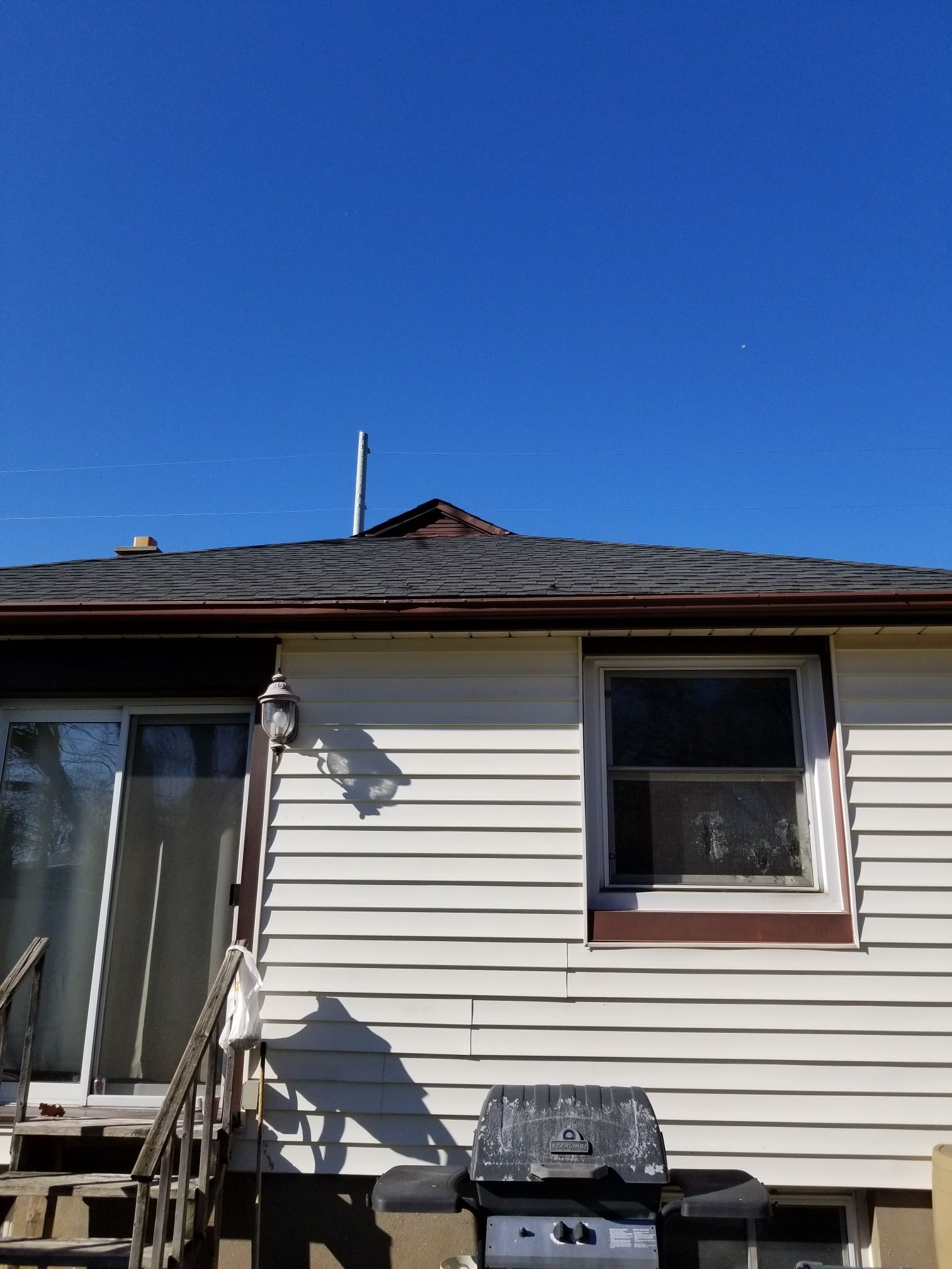 antenna removal after