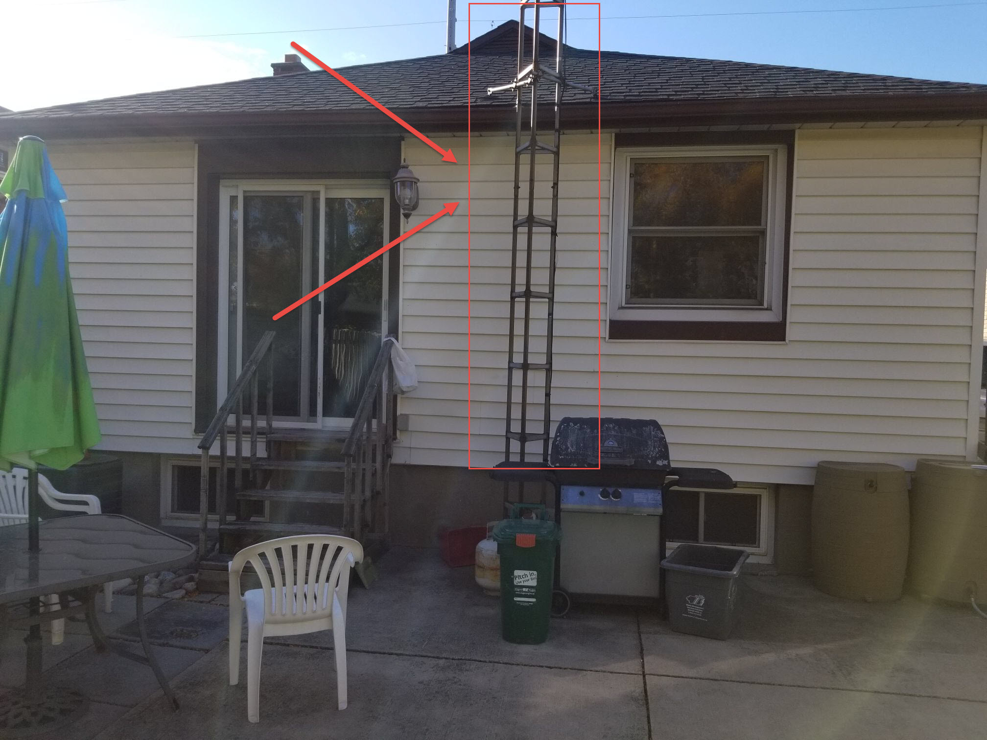 antenna removal before 2