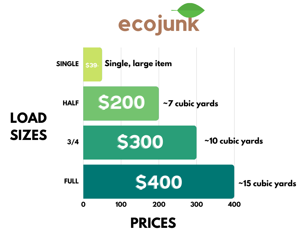 Eco Junk pricing model with logo